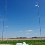 Wind Turbines and Hydrogen Storage Tank