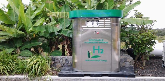 Hawaii Installation MRE Hydrogen Generator