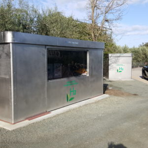 Stone Edge Farms MRE Station Hydrogen Fueling