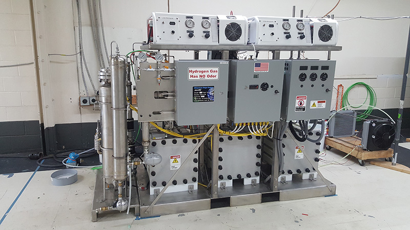 342 Triple Twin Electrolyzer with Twin Compressors