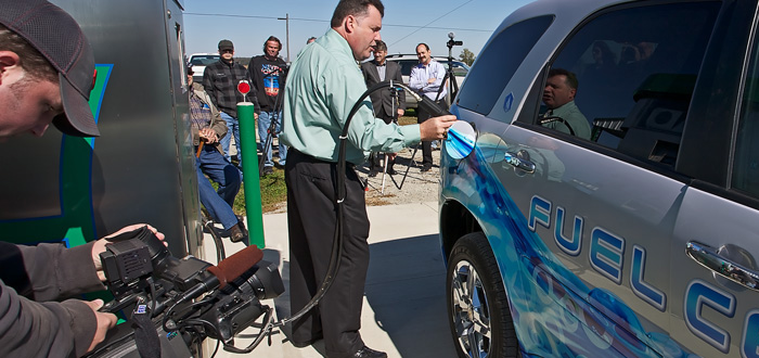 General Motors Fuel Cell Vehicle