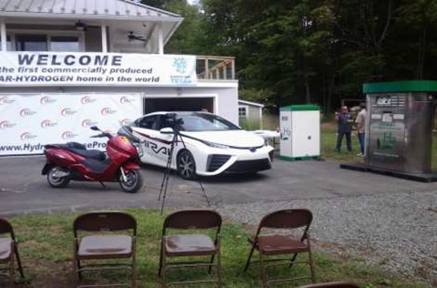 Hydrogen house in Hopewell NJ